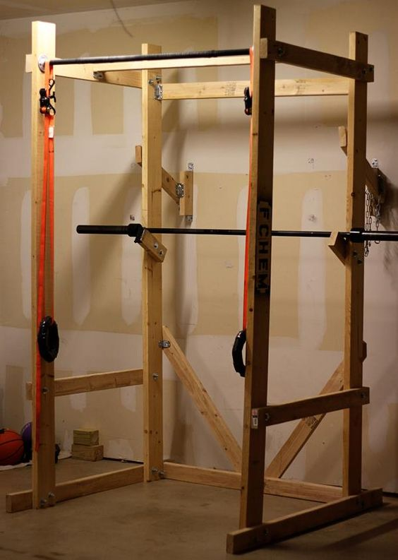 build home power rack