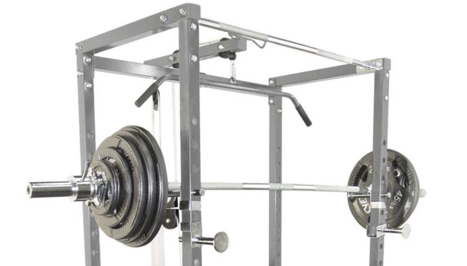 Valor Bd 7 Power Rack With Lat Pull Attachment Review