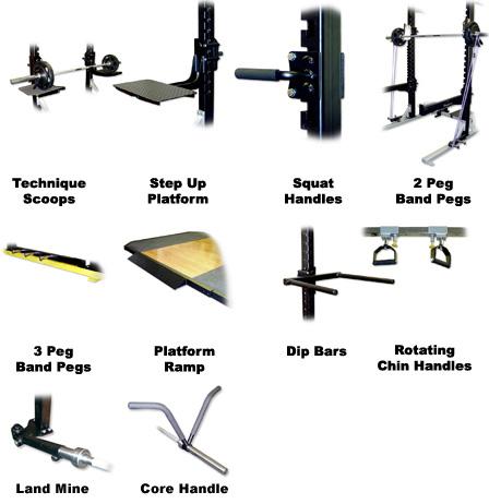 Accessories power rack