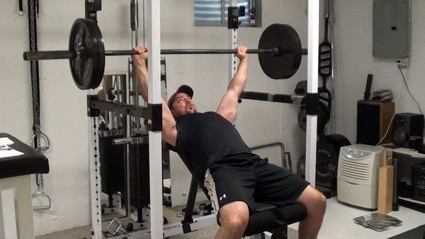 How To Perform Incline Press And Pullups Using Power Rack