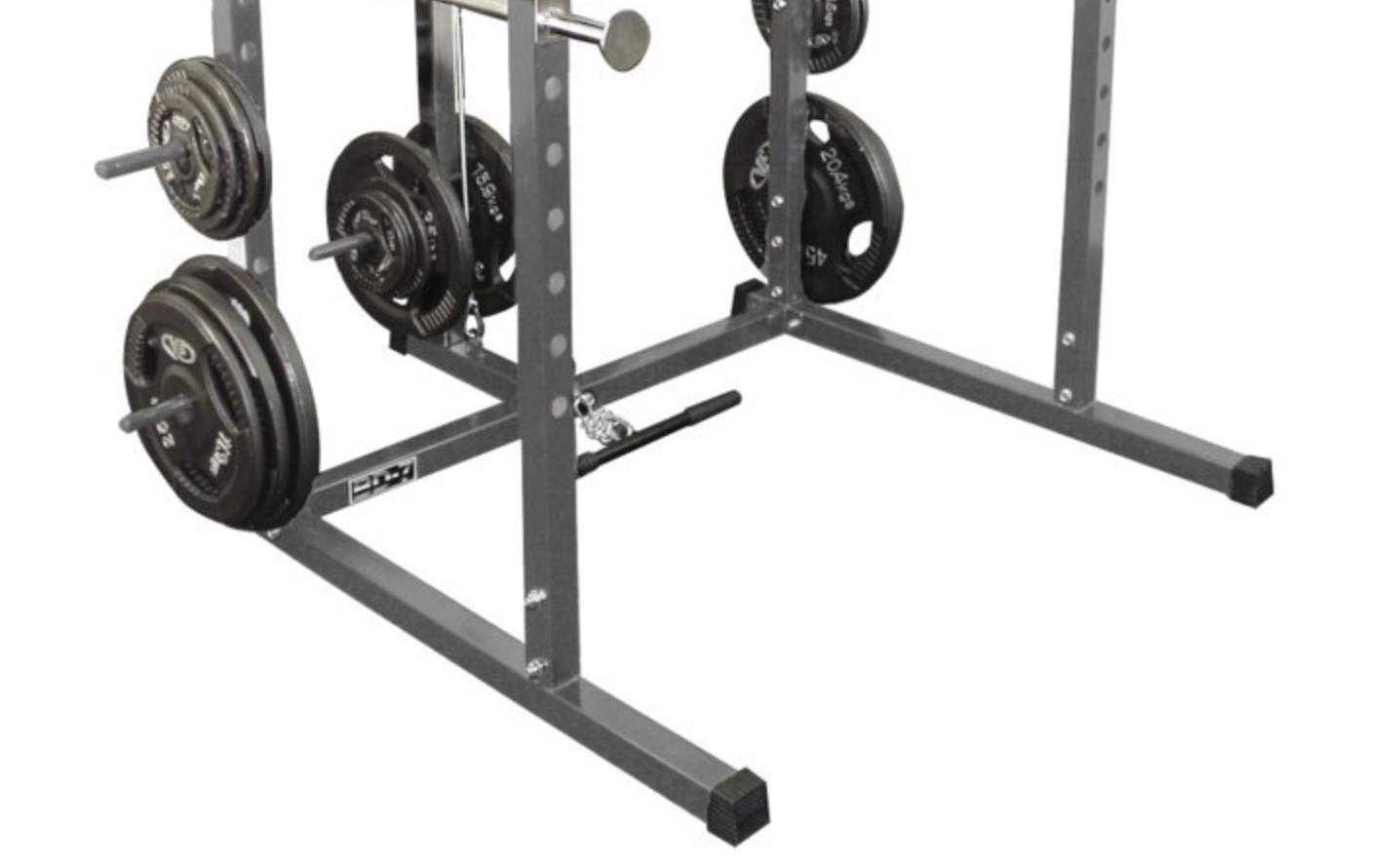 valor athletics bd-7 power rack bottom