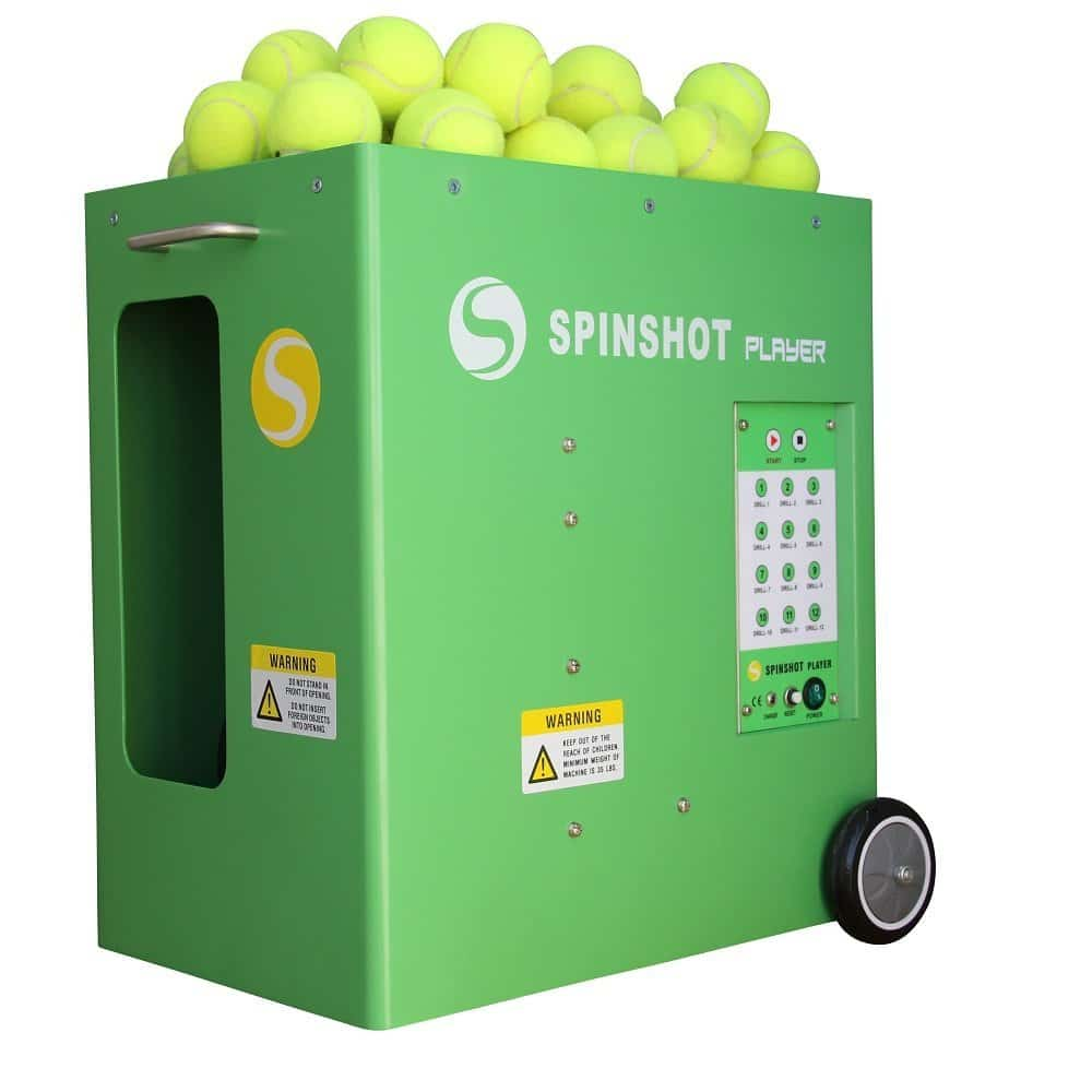 Spinshot-Player Tennis Ball Machine with Phone Remote Supported Review