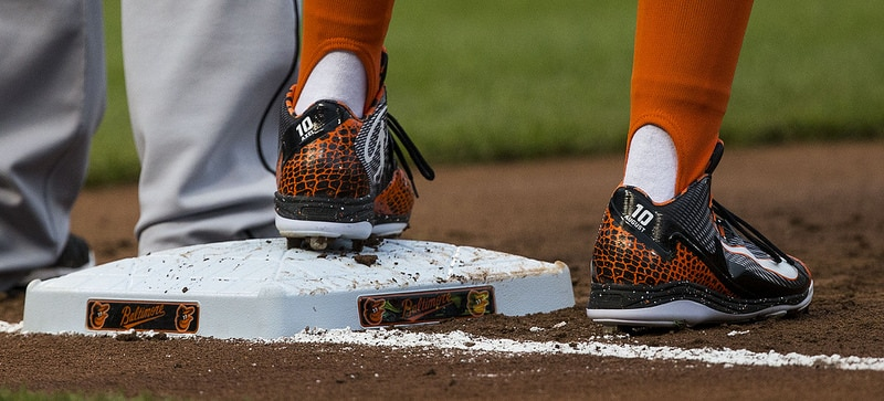 leather Baseball cleats