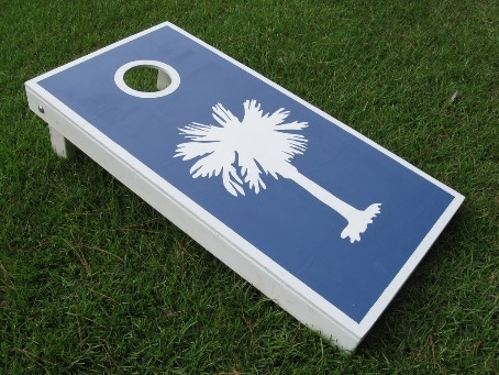 material of cornhole boards