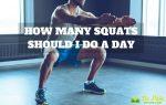 How Many Squats Should I Do A Day?