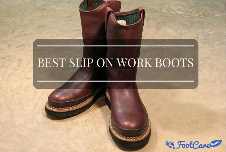 best slip on work boots