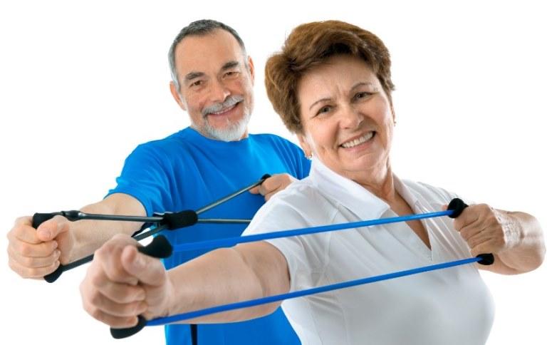 Resistance Band Exercises seniors