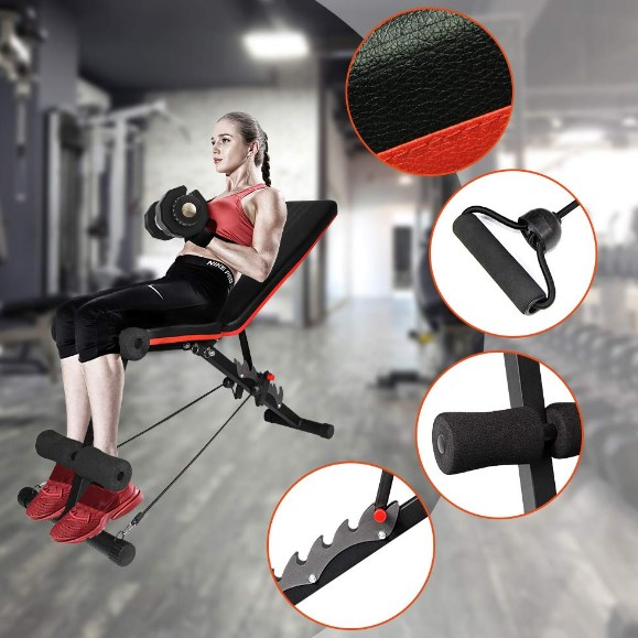 ativafit adjustable weight bench review
