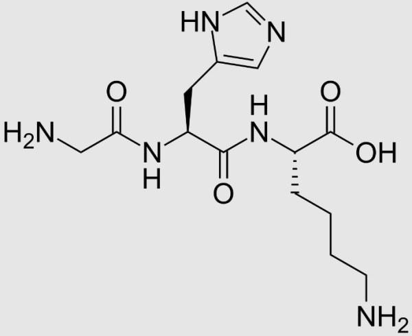 Copper peptides