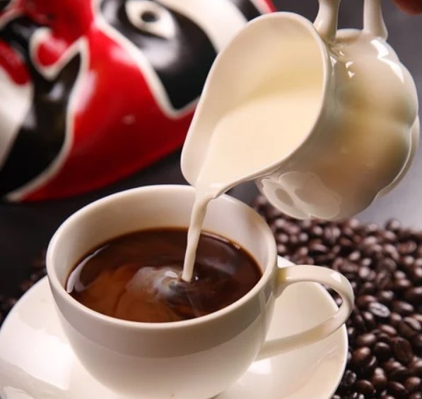 whipping cream coffee